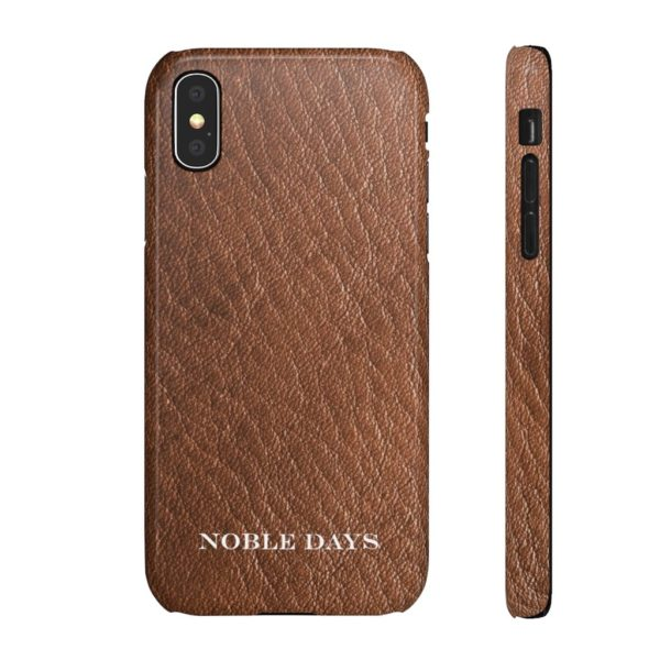 Brown Leather: Snap Cases - Noble Days