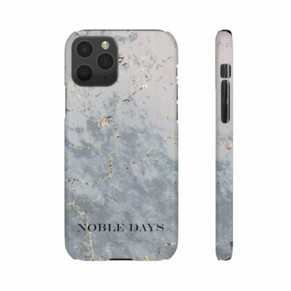 Grey Marble Snap Cases - Noble Days