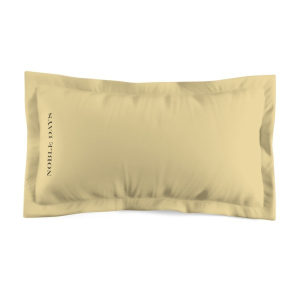 CC Vanilla Microfiber Pillow Sham - Noble Days