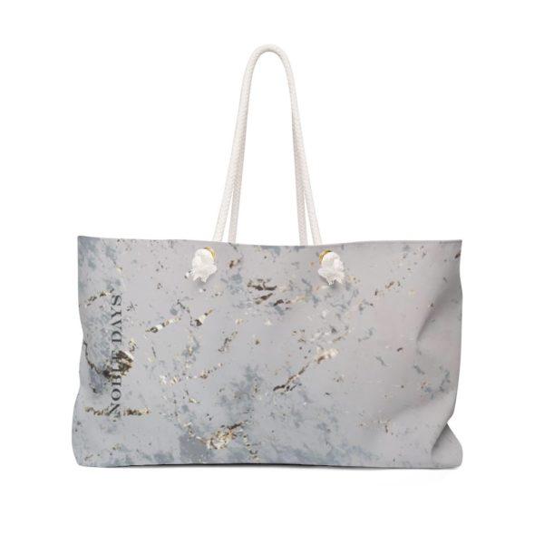 Grey Marble Weekender Bag - Noble Days