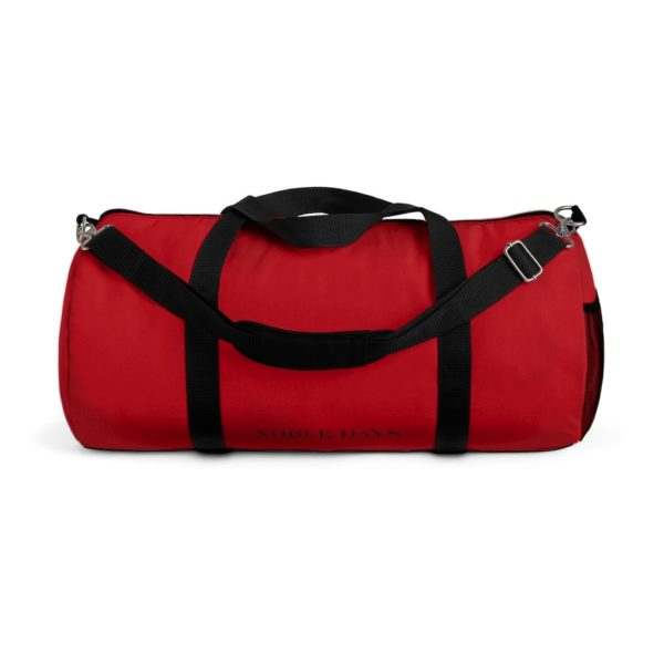 CC deep red Duffel Bag - Noble Days