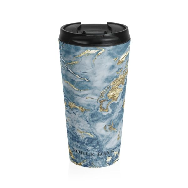 Blue Lagoon Stainless Steel Travel Mug - Noble Days