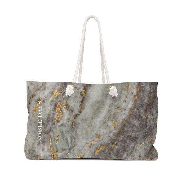 Grey Gold Weekender Bag - Noble Days