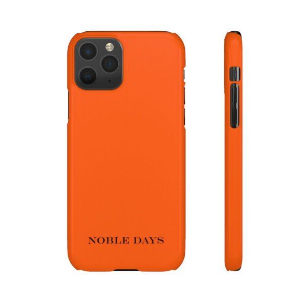 Orange Endemic Flow Phone Cases - Noble Days