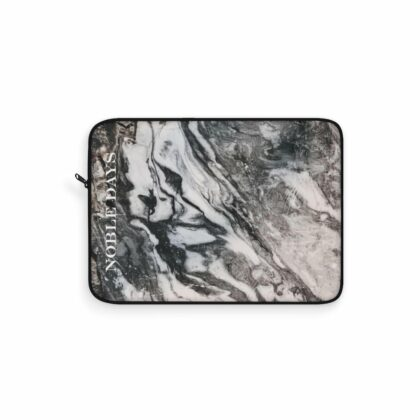 I love Marble in Black Laptop Sleeve - Noble Days