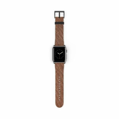 Brown Leather Watch Band - Noble Days