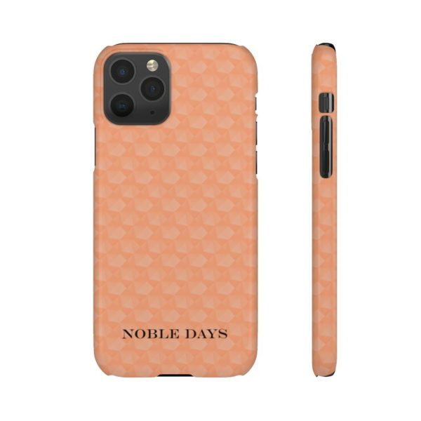 Cadence Orange Lighten Cubes Phone Cases - Noble Days