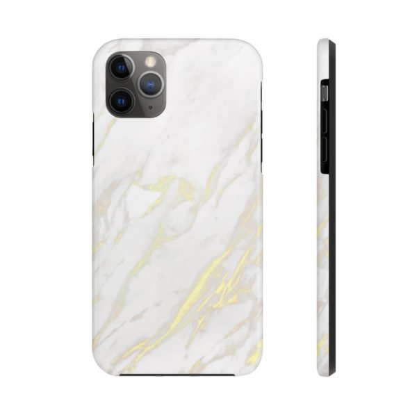 I love Marble in White 2: Case Mate Tough Phone Cases - Noble Days