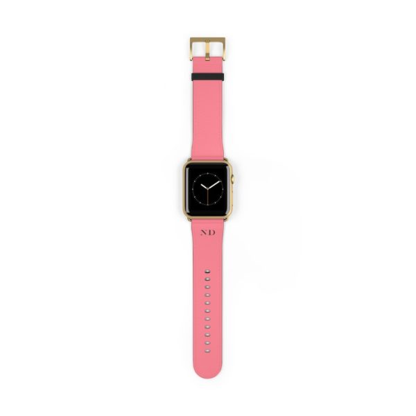 CC salmon iWatch Band - Vegan - Noble Days
