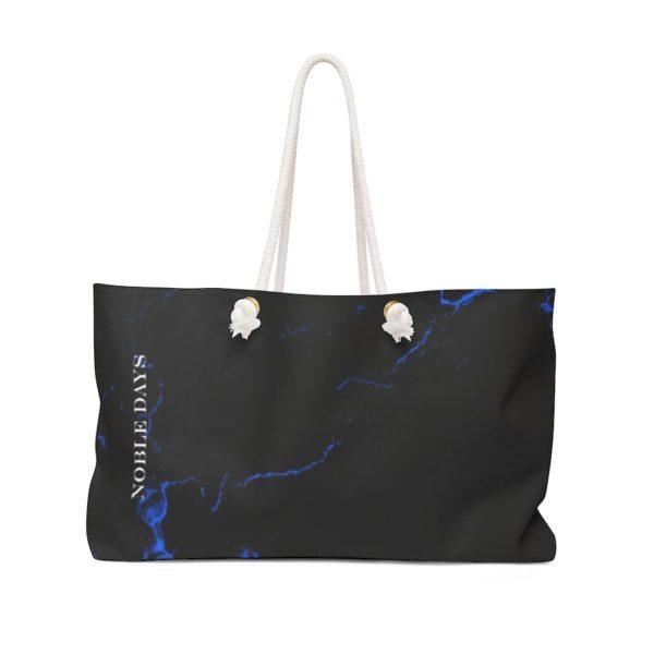 Navy Blue Marble Weekender Bag - Noble Days