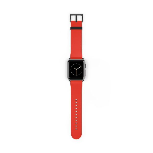 Powerful Red Sixty One Watch Band - Noble Days