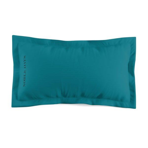 CC teal Microfiber Pillow Sham - Noble Days