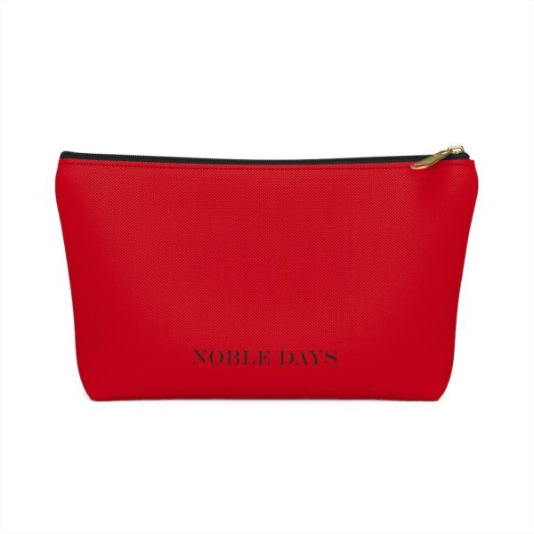 CC deep red Pouch w T-bottom - Noble Days