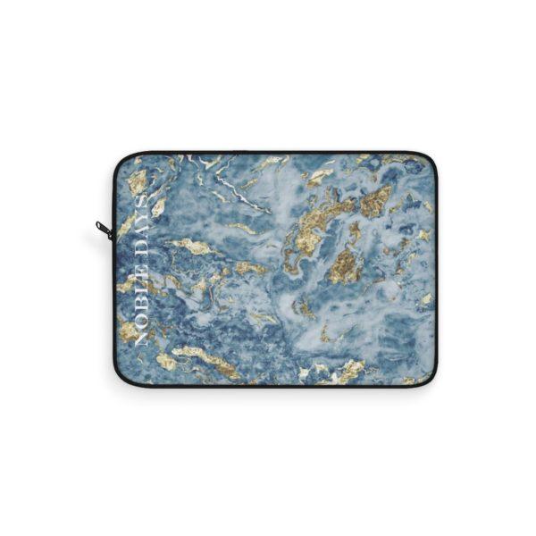 Blue Lagoon Marble Laptop Sleeve - Noble Days
