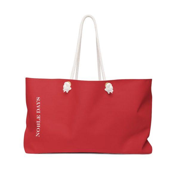CC deep red Weekender Bag - Noble Days