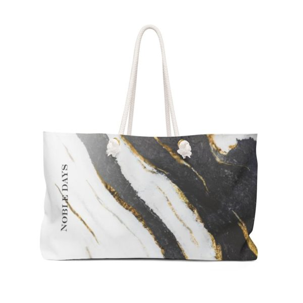 Zebra Marble Weekender Bag - Noble Days