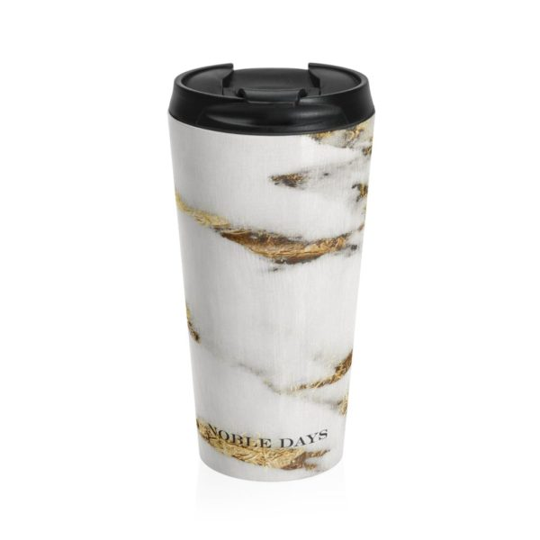 Athena Marble Stainless Steel Travel Mug - Noble Days
