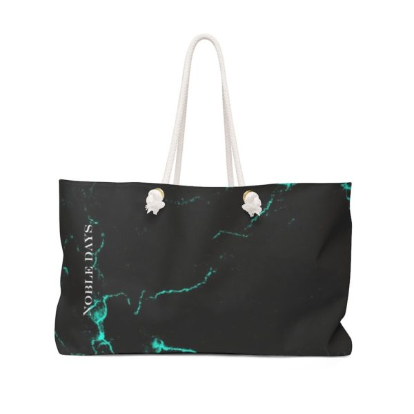 Emerald Marble Weekender Bag - Noble Days