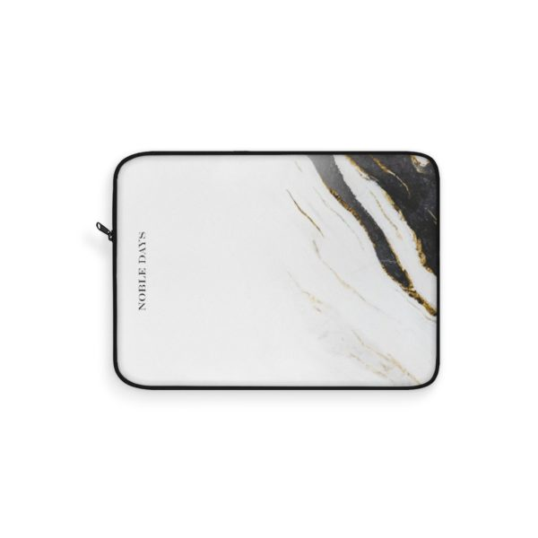Zebra Marble Laptop Sleeve - Noble Days