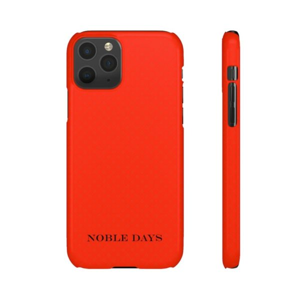 Powerful Vichy Red Phone Cases - Noble Days