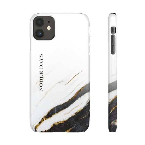 Zebra Marble: Snap Cases - Noble Days