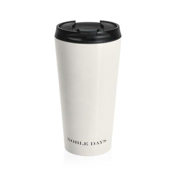 CC Off-white Stainless Steel Travel Mug - Noble Days