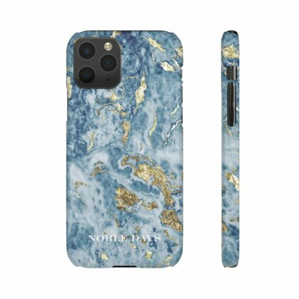 Blue Lagoon Marble Snap Cases - Noble Days