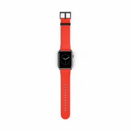 Powerful Vichy Red Watch Band - Noble Days