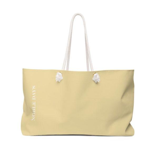 CC Vanilla Weekender Bag - Noble Days
