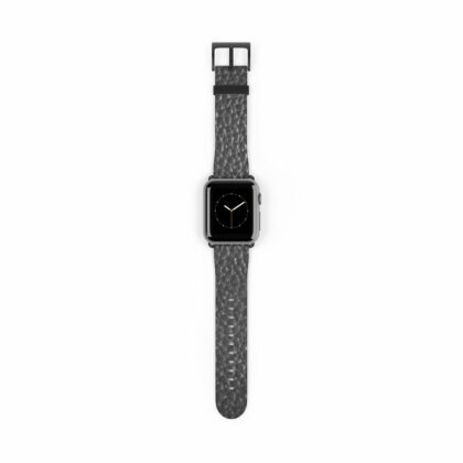 Grey Leather Watch Band - Noble Days