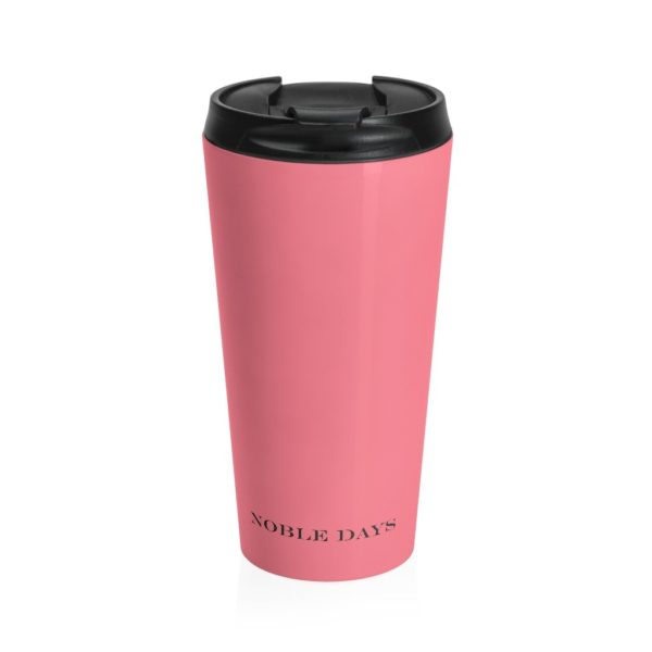 CC salmon Stainless Steel Travel Mug - Noble Days