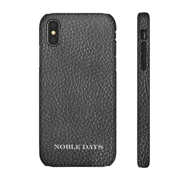 Black Leather: Snap Cases - Noble Days