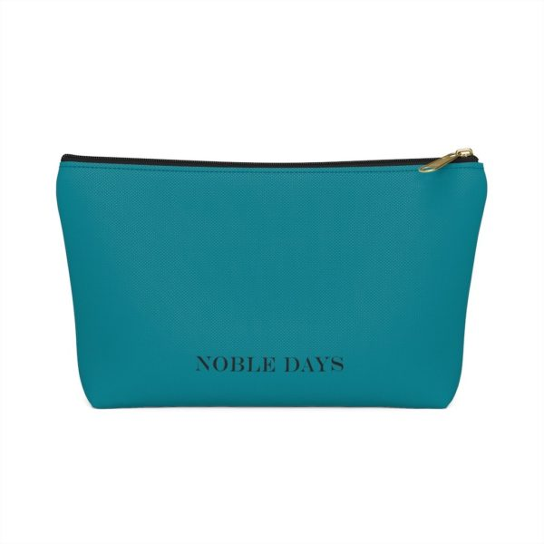 CC teal Pouch w T-bottom - Noble Days