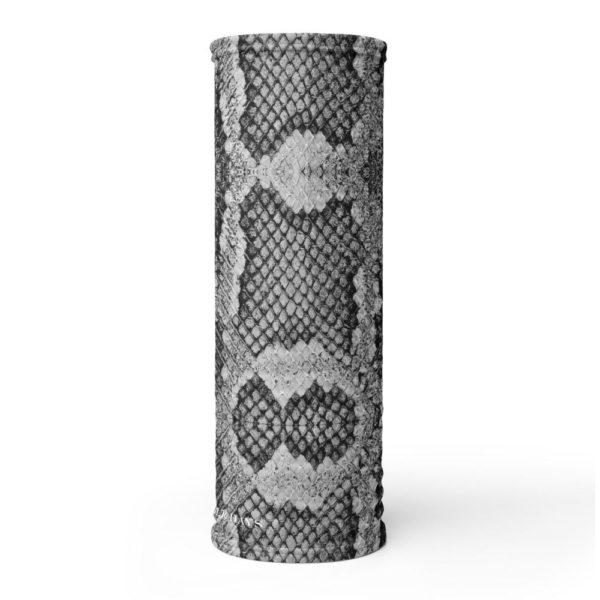 Snake Skin Black & White Premium Face Mask / Loop Scarf / Loop Scarf - Noble Days