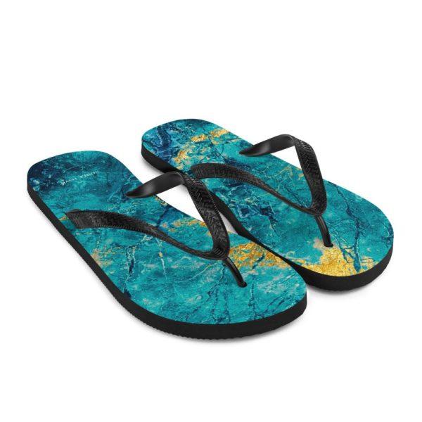 Blue Lagoon Flip Flops - Noble Days