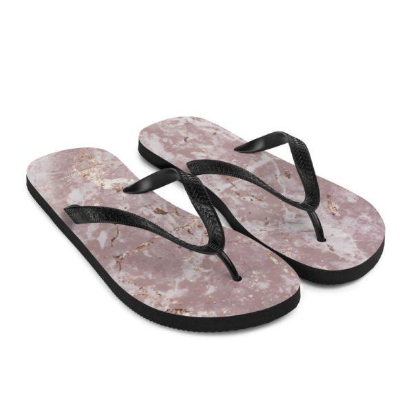 Rose Quartz Flip Flops - Noble Days